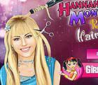 Hannah Montana Real Haircuts Styling Game